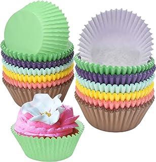 NATUCE 300PCS Caissettes à Cupcakes, Cupcake Papier, Caissettes à Muffins en Papier, Muffin Tasses, Cupcake Wrappers, Emba...