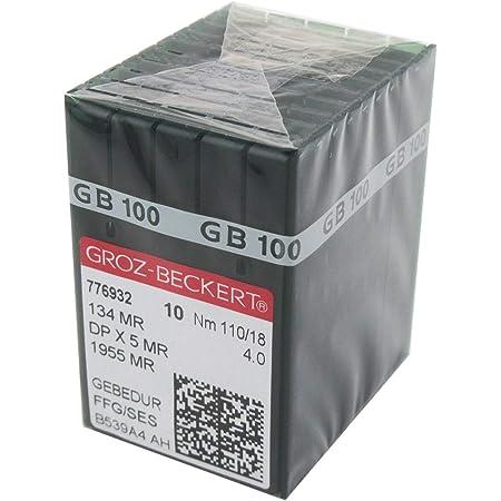 Groz-Beckert Gebedur 134MR Titainum Coated Longarm Machine Needlees 20 Pk