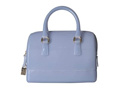 Furla Candy Cookie Small Satchel (Violetta) Satchel Handbags