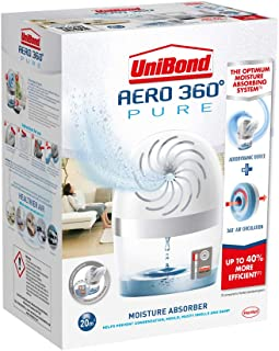 UniBond AERO 360º Moisture Absorber, Ultra-Absorbent Dehumidifier, Helps to Prevent Condensation, Mould & Musty Smells, Re...