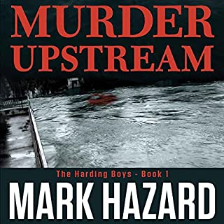 Murder Upstream: A Detective Mystery cover art
