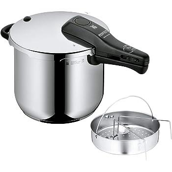 WMF Perfect - Olla rápida, Ø22cm, 6,5 litros (manual en castellano, tabla de cocción y servicios técnicos): Amazon.es: Hogar