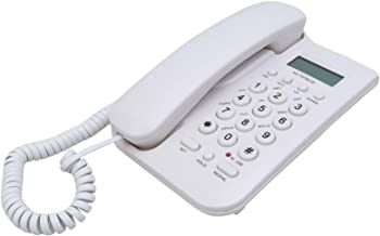 $41 » BENCONO Digital Home Office Desktop Wireless English Landline Telephone Intercom Business Hotel Wall Mount Call for Elderl...