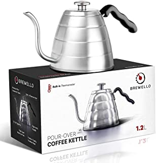 gooseneck kettle with thermometer