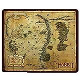 The Hobbit Middle Earth Map Tapis de Souris Tapis de Souris–23x 19cm