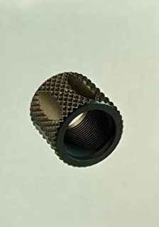 Xtreme Precision 1/2-28 Black Knurled/Fluted 5/8 Long Thread Protector 5.56/223 SKU 919