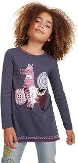 T-Shirt Nicolas Camiseta de Manga Larga para Niñas