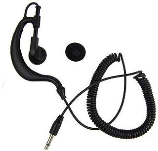 Auriculares con conector de 3,5 mm para Walkie Talkie/radio de dos vías