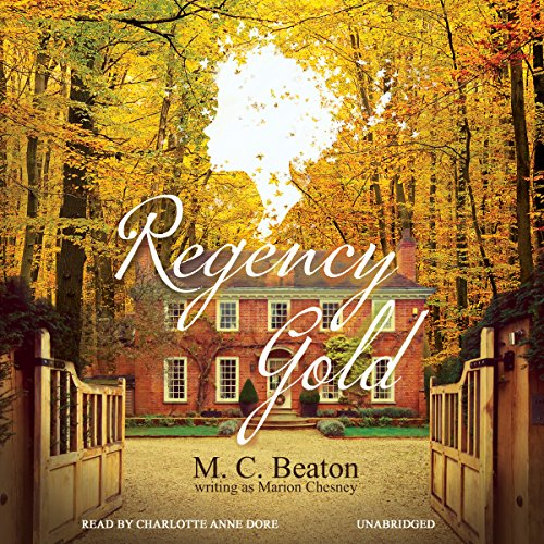 Regency Gold audiobook cover art