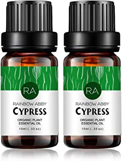 2-Pack Cypress Essential Oils, 100% Pure, Undiluted, Therapeutic Grade Cypress Oil - 2x10 mL