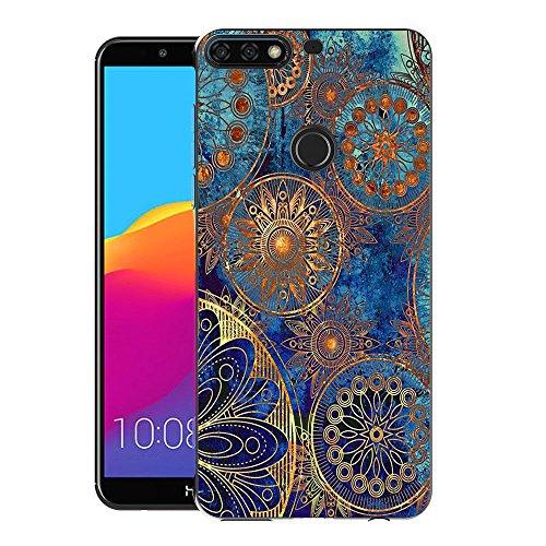 Honor 7C / Huawei Y7 2018 / Y7 Prime 2018 Handy Tasche, FoneExpert® Ultra dünn TPU Gel Hülle Silikon Hülle Cover Hüllen Schutzhülle Für Honor 7C / Huawei Y7 2018 / Y7 Prime 2018