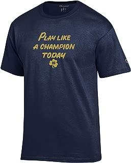 Men's NCAA Classic Jersey Script/Team Logo Cotton T-Shirt
