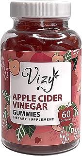 Apple Cider Vinegar Gummies 1000mg Per Serving - 60 Count - No Artificial Sweeteners - Gluten Free - Delicious Tasting Gum...