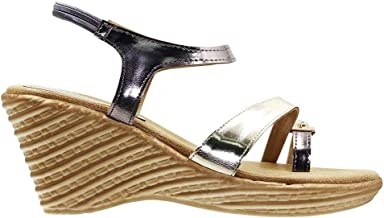 LEMEX Wedge Sandal For Women