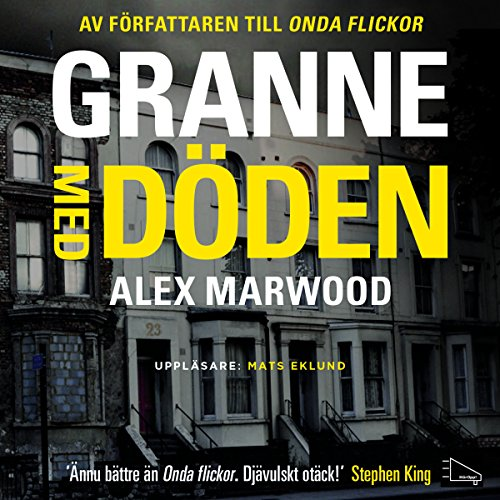 Granne med döden audiobook cover art