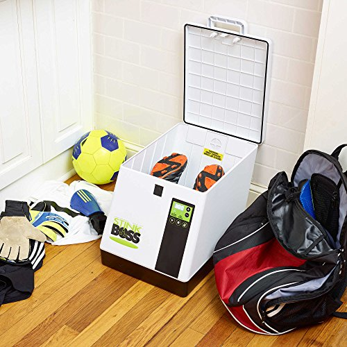 StinkBOSS Shoe Deodorizer - Eliminates Smelly Odor From Shoes, Gloves, Pads - Great for Gear You Can't Put in A Washing Machine