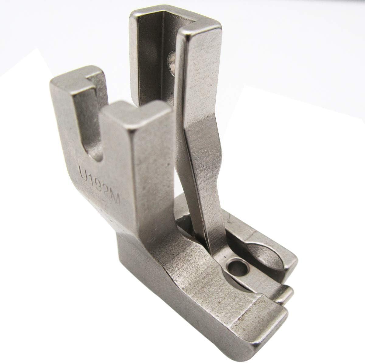 Guangcailun 8pcs Presser Pies Set m/áquina de Coser del pie Ajustable Kit Gu/ía de Bias Carpeta Dobladillo Enrollado pie de presi/ón