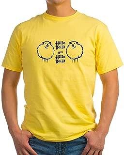 CafePress Hello Dolly Sheep Light T Shirt Cotton T-Shirt