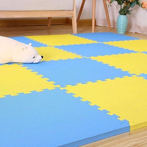 calidad oficial LUYIASI- Baby Play Puzzle Floor Mat, Niños Jigsaw Jigsaw Jigsaw Puzzle Foam Mat Play Mat Foam, Enclavamiento EVA Puzzle Los Niños se arrastran Alfombra, Gimnasios de yoga colchonetas de ejercicios marco 50x50x2cm b  venta con descuento