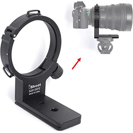 iShoot All Metal Lens Collar Support Bracket Compatible with Nikon AF-S NIKKOR 28-300mm f//3.5-5.6G ED VR Lens Tripod Mount Ring Built-in ARCA-Swiss Fit Quick Release Plate for Tripod Ball Head