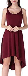 Women's Sexy Backless Maxi Dress Sleeveless Spaghetti Straps Cocktail Party Dresses