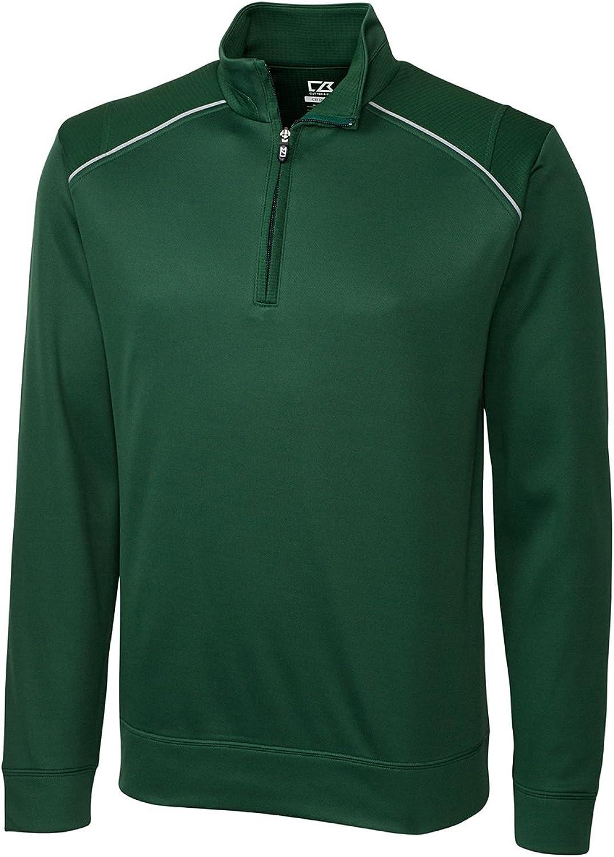 Cutter & Buck Mens Cb Weathertec Ridge Half-Zip Sweatshirt