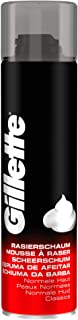 Gillette Classic Scheerschuim Voor Mannen Normale Huid, 300ml