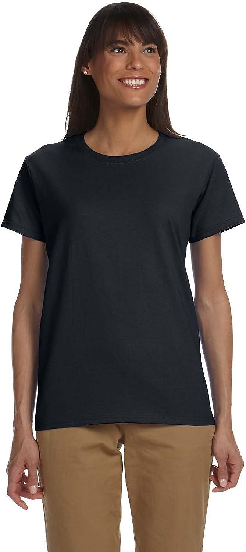 By Gildan Gildan Ladies Ultra Cotton 6 Oz T-Shirt - Black - XS - (Style # G200L - Original Label)