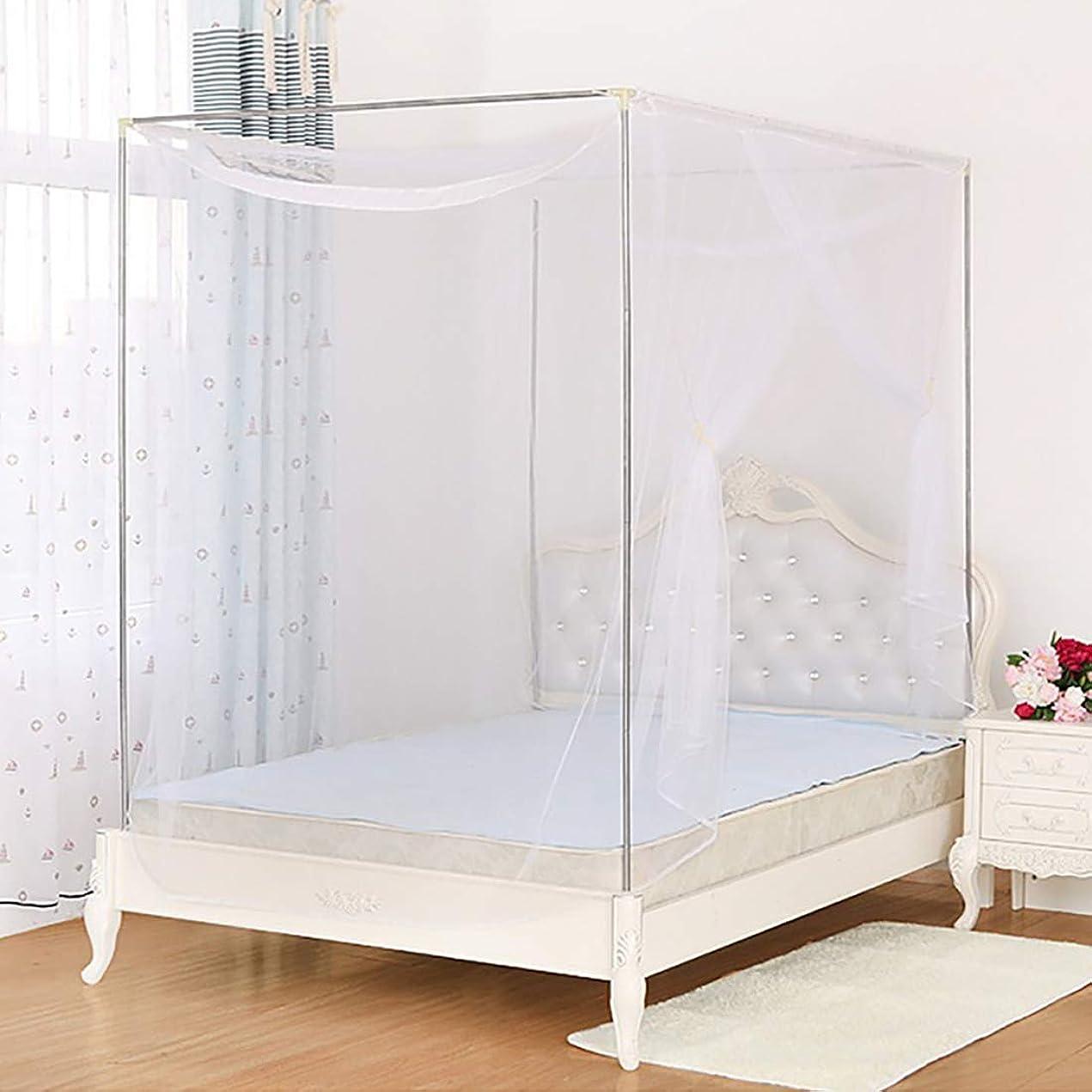 パステル会計上院議員Dreamy wing 蚊帳 かや 6畳用 吊り下げ 虫除け対策 300×210×230(白)