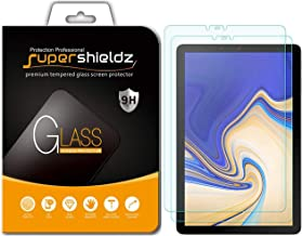 (2 Pack) Supershieldz for Samsung Galaxy Tab S4 (10.5 inch) Screen Protector, (Tempered Glass) 0.33mm, Anti Scratch, Bubble Free