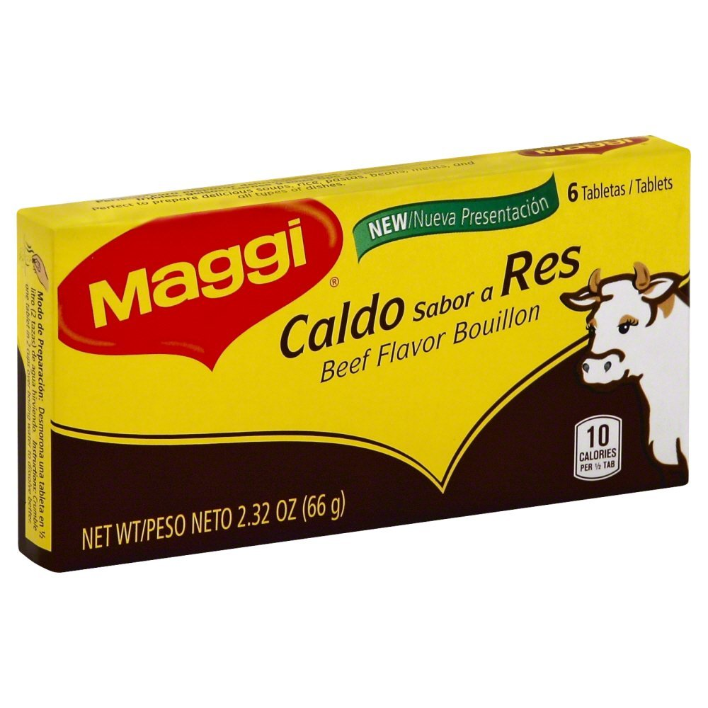 Maggi Some reservation Caldo Carne Beef Bouillon 2.32 6 OZ Max 82% OFF Pack of