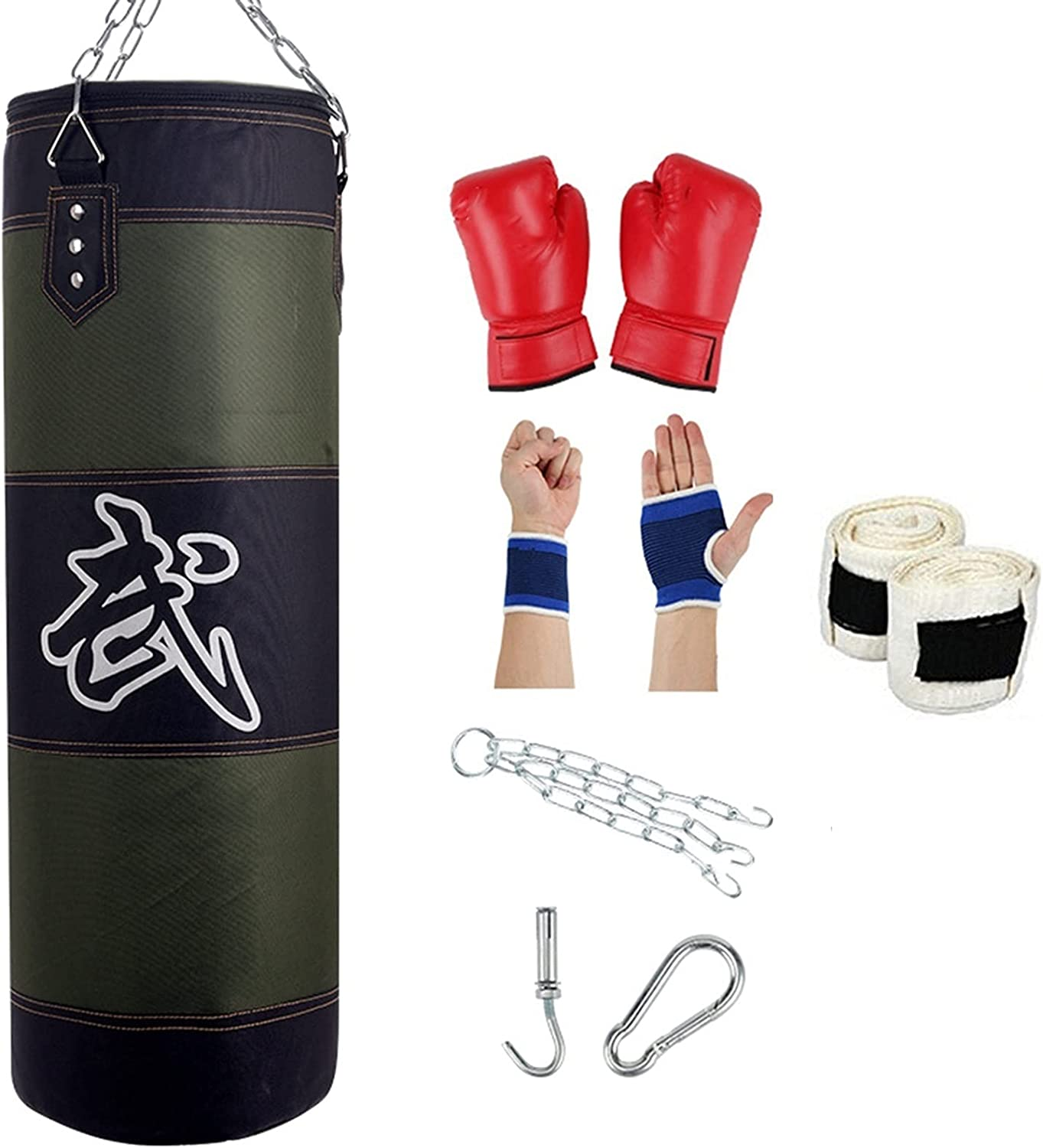 ZWJ Boxing Sets Wall Punch Manufacturer regenerated product Arlington Mall Bag Sandbag Thick High-Grade and Wear