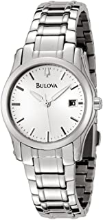 Bulova 96M103 Women's Silver Dial Stainless Steel Bracelet Watch