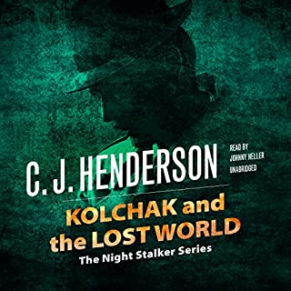 Kolchak and the Lost World audiobook cover art