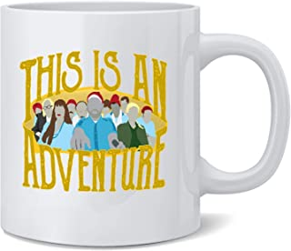 Poster Foundry This is an Adventure Minimalist Coffee Mug Tea Cup 12 oz