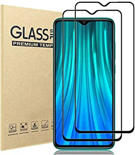 [2 Pack] Compatible with Xiaomi Redmi Note 8 Pro Screen Protector,HD Clear 9H Hardness Scratch Resistant Tempered Glass Pr...