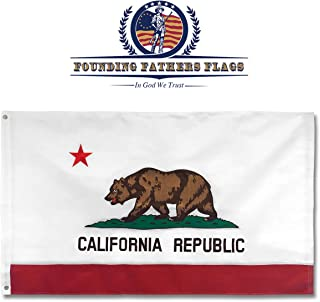 antique california flag