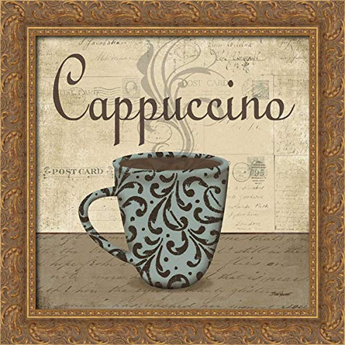 Williams, Todd 20x20 Gold Ornate Framed Canvas Art Print Titled: Cappuccino
