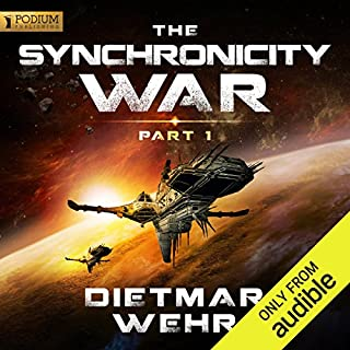 The Synchronicity War, Part 1                   By:                                                                                                                                 Dietmar Wehr                               Narrated by:                                                                                                                                 Luke Daniels                      Length: 8 hrs and 46 mins     137 ratings     Overall 4.4