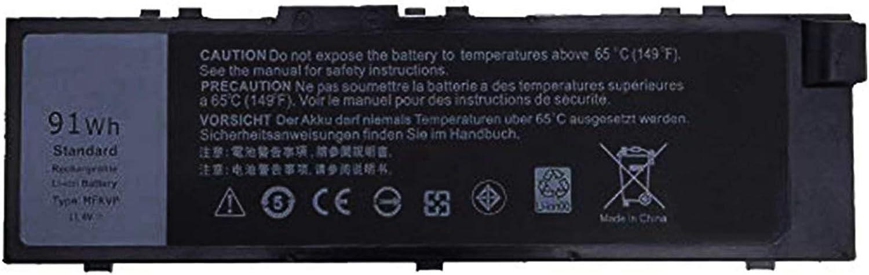 EBKK 91Wh MFKVP Battery for Dell Precision 15 7510 7520 M7510 17 7710 7720 M7710 Series 451-BBSF 451-BBSB TWCPG T05W1 GR5D3 0FNY7 1G9VM M28DH