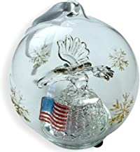 Best american flag glass ornament Reviews