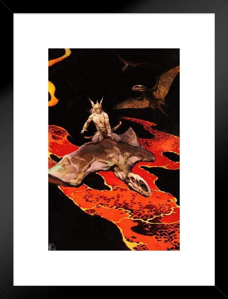 Poster Foundry Frank Frazetta Thor God Thunder Lava Flight Pt of It is very popular price