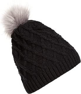 Eric Carl 2019 Fur Woolen Knit Beanie Raccoon Women Crochet Hat Warm Caps Master Designer