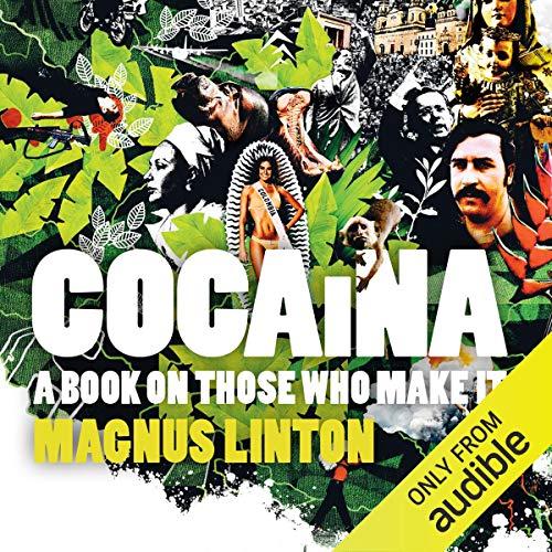 Cocaina audiobook cover art
