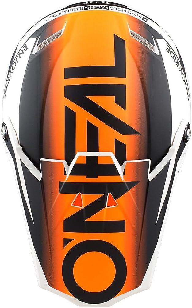 O'Neal Unisex-Adult Blocker Visor Black Inventory cleanup selling sale Orange Hi-Viz One Size online shop