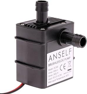 Anself Ultra-quiet Mini DC12V 4.2W Micro Brushless Water Oil Pump Waterproof Submersible Fountain Aquarium Circulating 240...