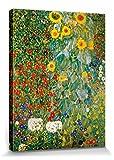 1art1 Gustav Klimt - Bauerngarten Mit Sonnenblumen, 1905-06