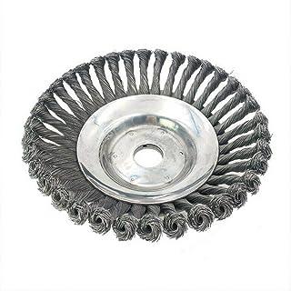 ASNOMY Professionale erbaccia Spazzola in acciaio HSS Spazzola per decespugliatore gezopft (Duro), foro 25,4 mm, diametro ...