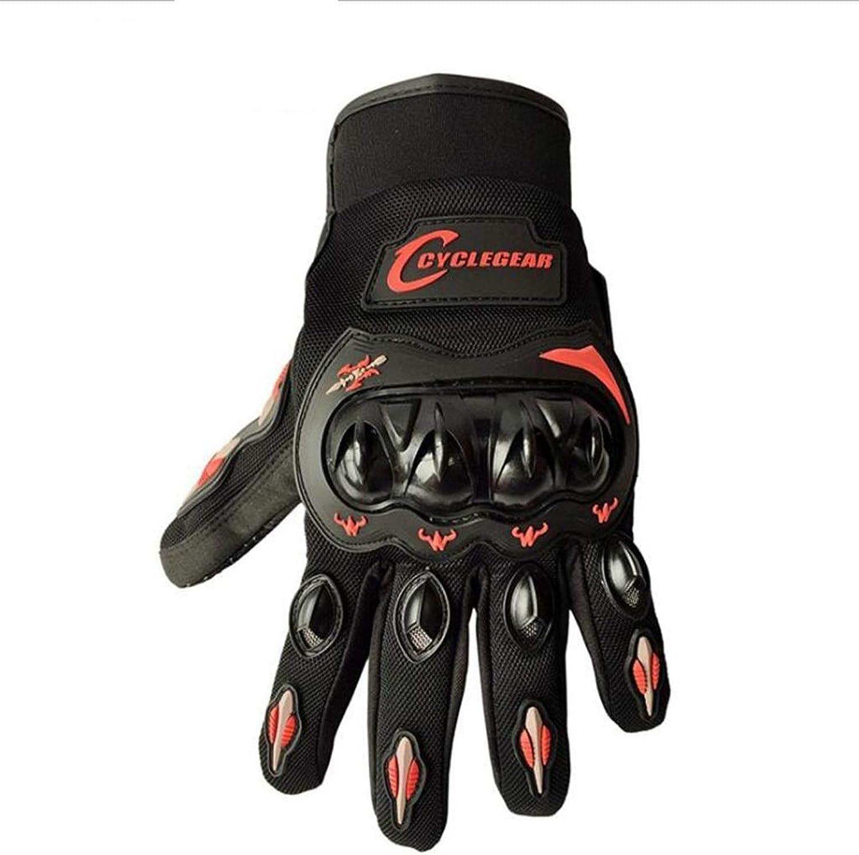 BMY Outdoor-Handschuhe, Motorradhandschuhe, Ritterschutz, Vollfingerhandschuhe, Offroad-Reiten, Touchscreen-Handschuhe für Mnner und Frauen