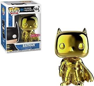 Pop! DC Super Heroes Batman (Gold Chrome) Exclusive Vinyl Figure